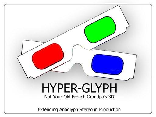 Adventures in Stereo 3D: Part 2 — The Hyper-Glyph