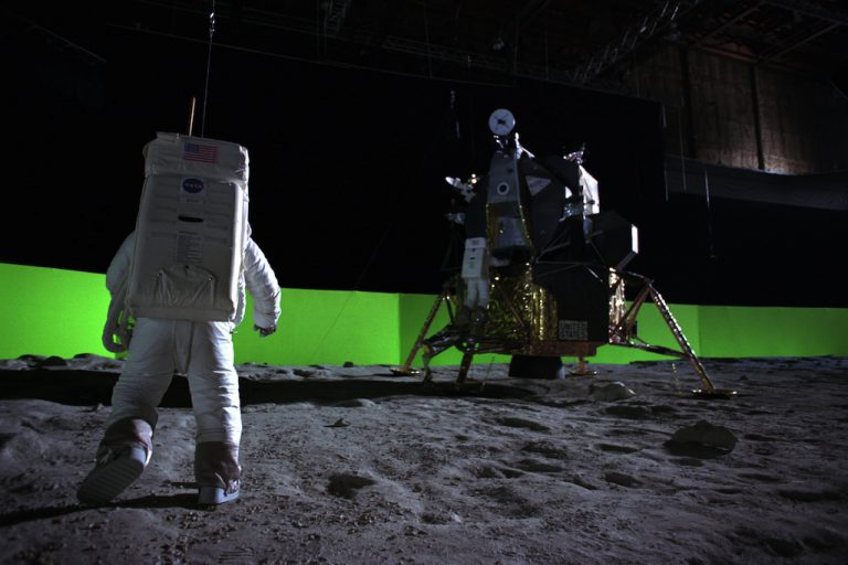 How We Faked The Moon Landing: Part 1 — the Visual Effects of Magnificent Desolation 3D
