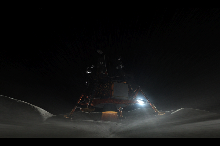 How We Faked The Moon Landing: Part 4 — The Visual Effects of Magnificent Desolation